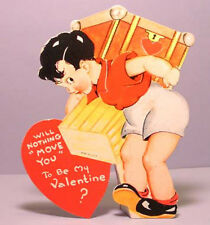 Vintage Valentine'S Day Valentine Card Moving Mover Will Nothing Move You
