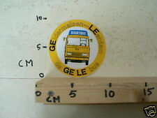 STICKER,DECAL BUURTBUS GELDERMALSEN LEERDAM DE GELE BUS