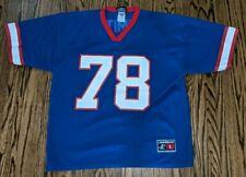 Vintage 90's Bruce Smith Logo Athletic Buffalo Bills Nfl Jersey #78 Size Large