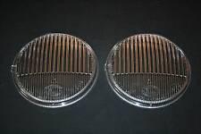 FOR PORSCHE 911 912 MERCEDES SET CLEAR FOG LIGHT LENSES HELLA
