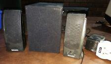NEW ALTEC LANSING 121WW 8 Watts 2.1 Speaker - OEM - SERIES 100 Speaker System