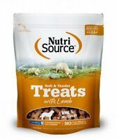 Nutri Source Soft & Tender Training Reward TREATS with Lamb for DOGS, 6 oz - NEW