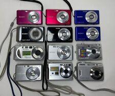 Sony Cyber-shot Digital Cameras Lot Of 12 Various Models Parts Or Repair