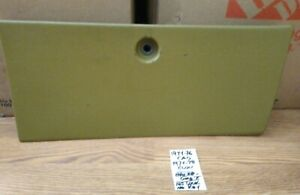1974 1975 1976 Cadillac Dash Glove Compartment Box Door   *GREEN-GOLD*