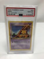 1999 Pokemon Game #43 1st Edition Abra PSA 10 GEM MINT