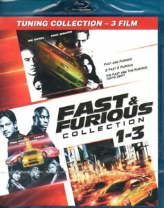FAST & FURIOUS COLLECTION 1 - 3 BLU RAY