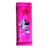 Safety Belt Pads ❀ Genuine Disney ❀ Car Seat Belts Cover for Kids ❀ Minnie Mouse