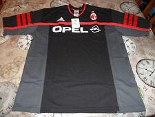 AC MILAN Player Issue Formazione Camicia 2000-2001 medie Mens Nuovo di zecca con tag