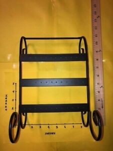 Wrought Iron Earring Stand Holder - Holds 18 Pairs
