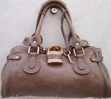 -AUTHENTIQUE  sac à main CHLOÉ Paddington cuir TBEG vintage