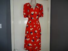 Ladies Stunning  Spring / summer Jersey  Dress Size  16 By Phase Eight
