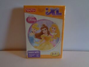 NEW FISHER PRICE IXL LEARNING SYSTEM DISNEY PRINCESS SEALED Q8