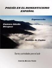 Poesía en el Romanticismo Español by Emérita Moreno Pavón (2008, Paperback)