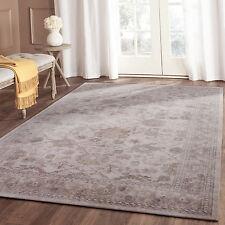 Extra Large White Beige Floor Rug Traditional Retro Distressed Carpet 240*330cm