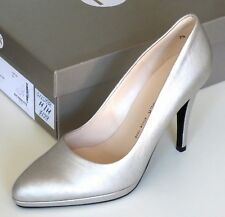 Peter Kaiser Womens Hertha Silver High Heel Court Shoe UK Size 4