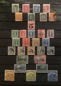 CHILI lot de timbres poste