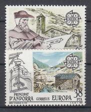 Briefmarken Europa Andorra (sp.. Post) CEPT ** 1983 Michel 165-166 Versand 0 EUR