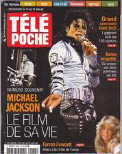 Michael Jackson TELE POCHE French FR TV Magazine 2009