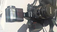 NIKON N8008 35mm SLR Camera With Nikon 28-85mm Lens and SB-20 Flash - PRICE CUT!