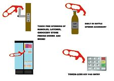 Hands-free Multi Tool For Ultimate Protection - Door/Bottle Opener, Keypad Entry