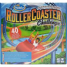 Rollercoaster Challenge Game CTIM Skill Challenge Thinkfun Thrill Ride Building