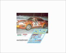 DECALS 1/43 PORSCHE 911 HALDI RALLY MONTECARLO 1979