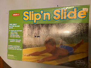 Vtg 1984 Wham-O Slip N Slide 25' Outdoor Backyard Water Toy Vintage NEW/SEALED