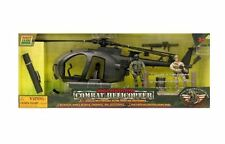 World Peacekeepers Combat Helicopter Military Play set accessories collectible