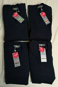Magic Fit Navy Knitted V-Neck School Jumper 4 Pack Size 30 New With Tags