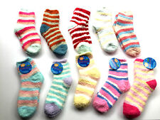 4 Pairs Ladies Soft Fluffy Lounge Cosy Bed Socks Warm Christmas SIZE 3-5 ABS