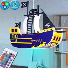 lampe de la chambre 7 W RVB enfants LED gradateur d'éclairage bateau pirate
