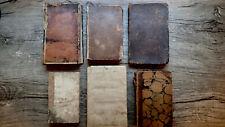 Printed 1798-1850 Antique Book Lot Thomas Paine Murder Trail Pequod Indians Rare