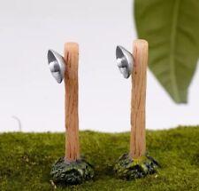 Mini Succulent Fairy Garden Figurines Miniature 1X Countryside Street Light