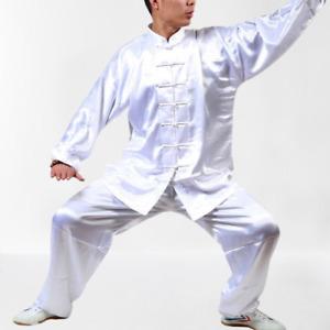 Martial Unisex Arts Uniform Kung Fu Suit Costume Tai Chi Performance Clothes New