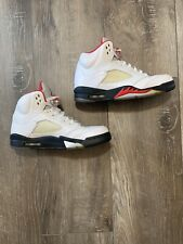 "Air Jordan 5 Retro 2013 ""Fire Red"" (136027-100) Size 8.5"