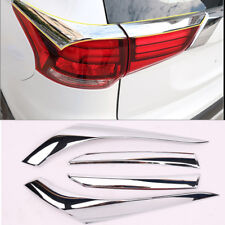 Rear Chrome Taillight Lamp Cover For Mitsubishi Outlander 2016 2017