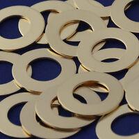 """20pcs 1 5//8/"""" tibetara aluminum round washer Stamping Blank 18 Gauges 10148301"""