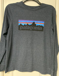 Patagonia Boys Long Sleeve Shirt - Size Youth XL (14)