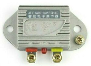 Universal Iron Regulator 14V 1000W Electronic Automobile Generator Silver