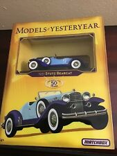 2006 MATCHBOX *MODELS OF YESTERYEAR* 1931 Stutz Bearcat - NEW IN GALLERY CASE