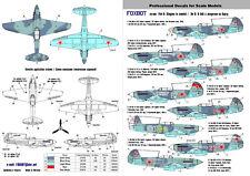 Foxbot Decals 48006 1/48 Yak-9 'Slogans in Combat' Decal Set
