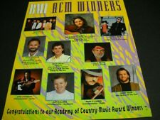 DIAMOND RIO Billy Dean BROOKS & DUNN Keith Stegall others 1992 PROMO POSTER AD