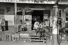 Lejune General Store Coca Cola ad Gas Service Station Photo 1936 South Louisiana