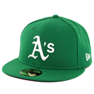 New Era 59Fifty Oakland Athletics ALT Fitted Hat (Green) MLB Cap