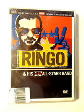 RINGO  &  HIS NEW ALL- STARR BAND  -  DVD 2002   NUOVO E SIGILLATO