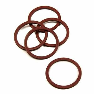 """Fibre Washer for 3/4"""" BSP Tap Connector Washer 24mm Diameter (Pack of 5)"""