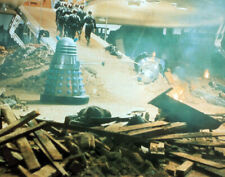 DOCTOR WHO POSTER PAGE . 1966 DALEKS INVASION EARTH 2150AD FILM MOVIE . D99H