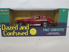 Ertl American Muscle Dazed and Confused 1967 Corvette Red 1:18