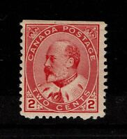 Canada SC# 90 Mint Hinged / Straight Edge / Hinge Rem / see notes - S3499