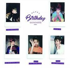 Individual BTS Namjoon Birthday Polaroids (방탄소년단, Bangtan, Beyond the Scene)